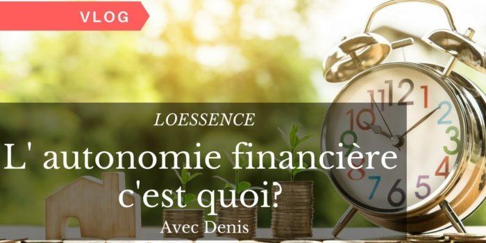 L' Autonomie Financière C'est Quoi?