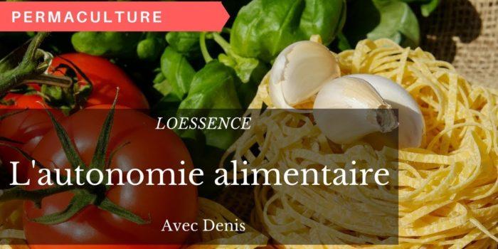L' Autonomie Alimentaire