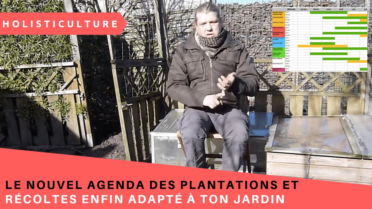 Le Nouvel Agenda Des Plantations Et Récoltes Enfin Adapté à Ton Jardin