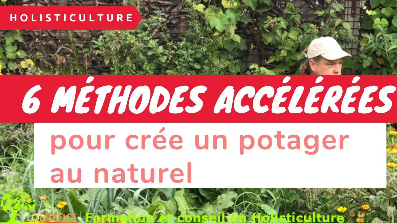 6 Méthodes Accélérées Pour Crée Un Potager Au Naturel Sans Utiliser Ni Motoculteur, Ni Déserbeur Thermique