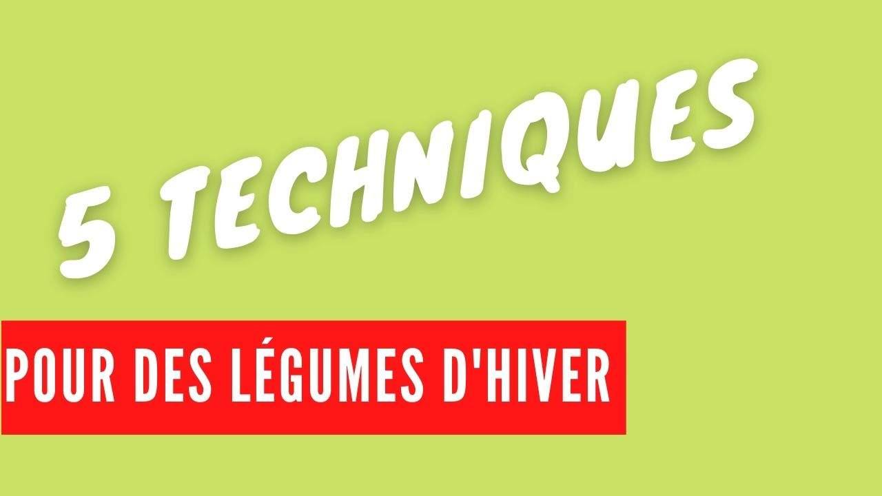 5 Techniques Rapides Et Faciles À Faire En Cette Fin D'été Pour Des Légumes Cet Hiver